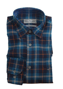 Peter Gribby Brushed Cotton Check Shirt