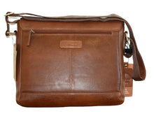 Load image into Gallery viewer, Ashwood Large Leather Messenger Bag