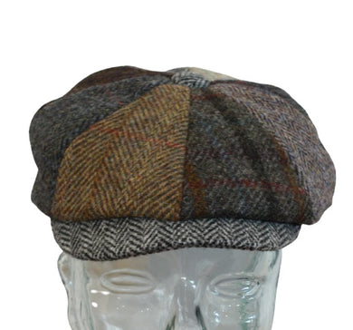 Lewis Baker Boys hat in Harris Tweed