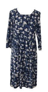 Adini Ashleen Dress- Chequerboard Print
