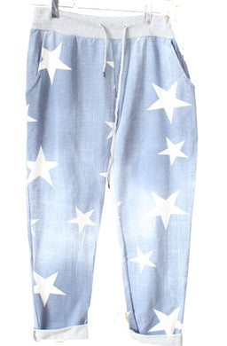 LV Star Print Jogging Trousers/Sweatpants