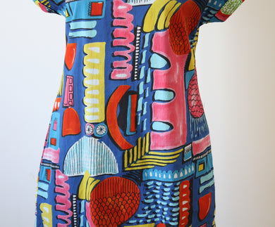 Orientique Catalonia Reversible Shift Dress