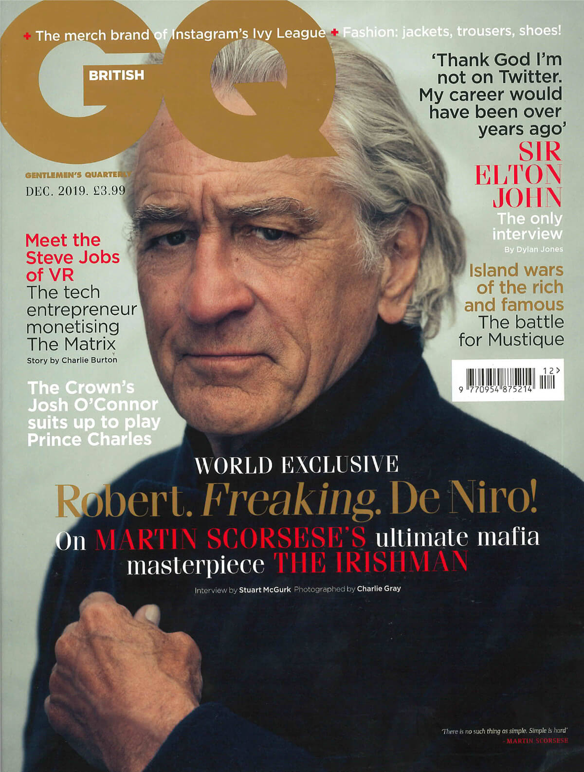 Fjord British GQ Magazine
