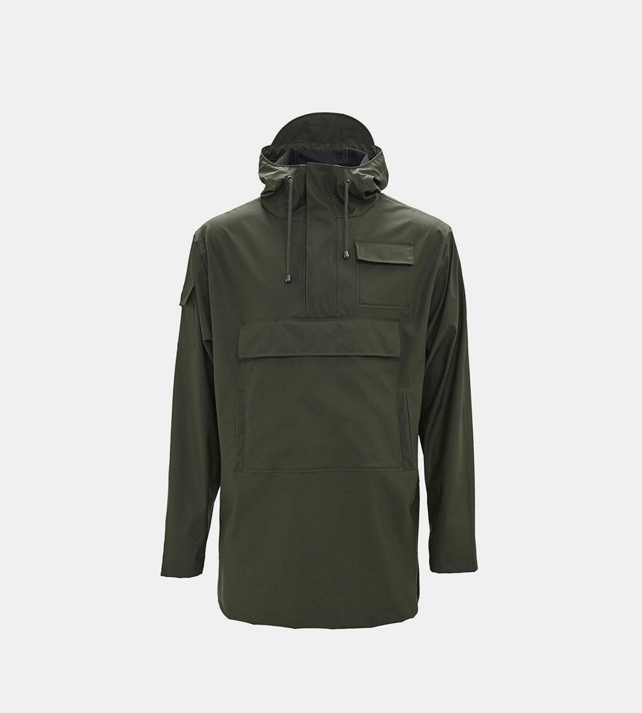 Rains Camp Anorak | Green