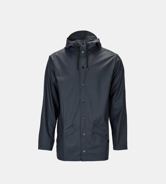 Rains Jacket | Navy Blue