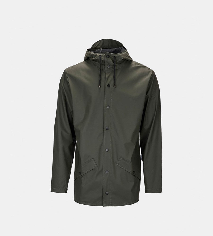 Rains Jacket Green Raincoat