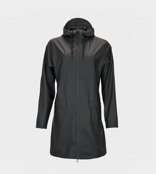 Rains  W Coat | Black