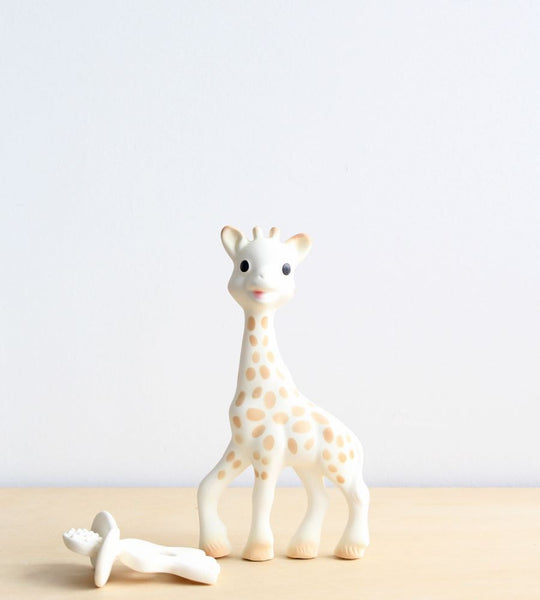 Sophie the Giraffe | Giraffe + Natural Teether Set
