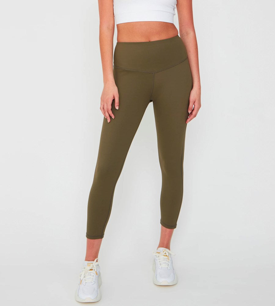 Marlow | Charge 7/8 Legging | Olive