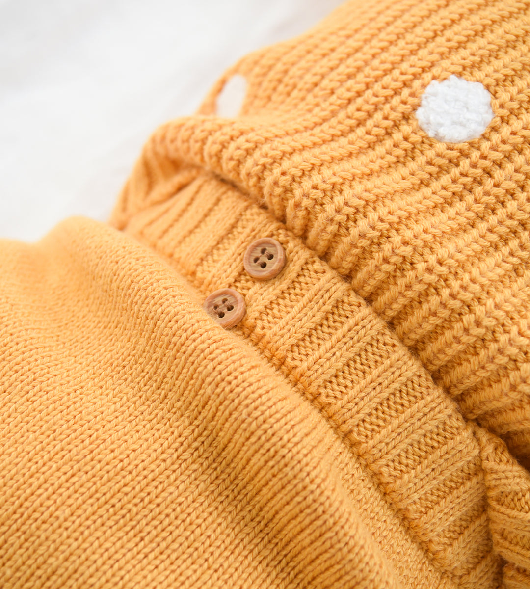 Wilson & Frenchy | Knitted Legging | Golden Apricot