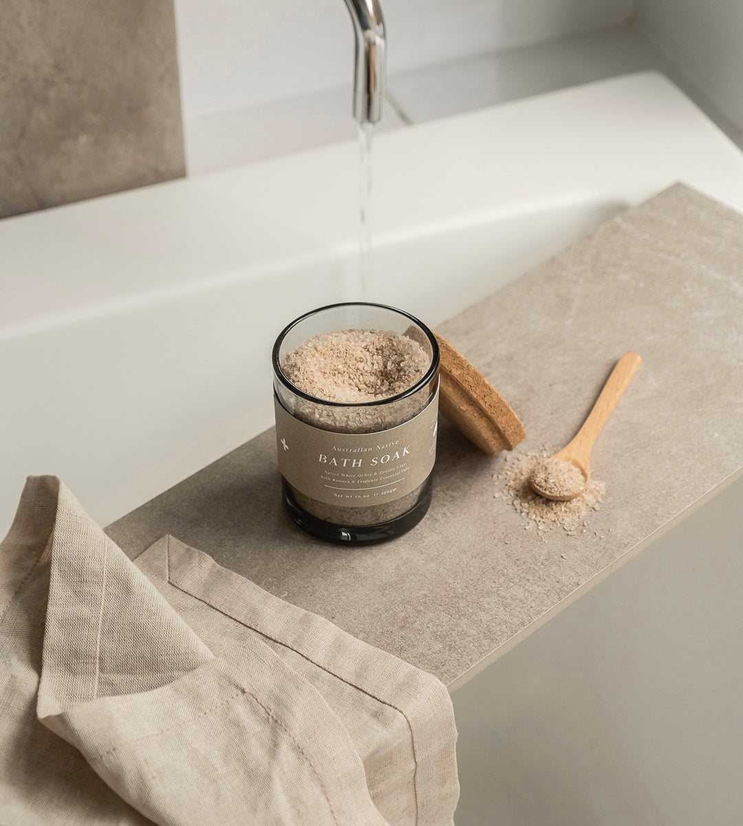Addition Studio | Australian Native Bath Soak Glass Jar