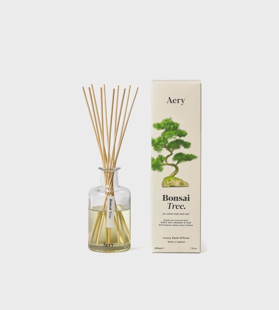 Aery | Botanical Reed Diffuser | Bonsai Tree
