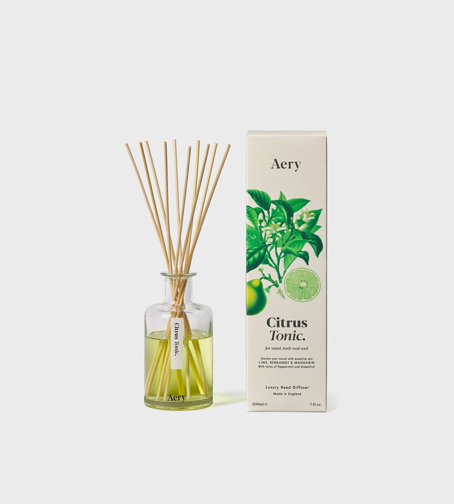 Aery | Botanical Reed Diffuser | Citrus Tonic