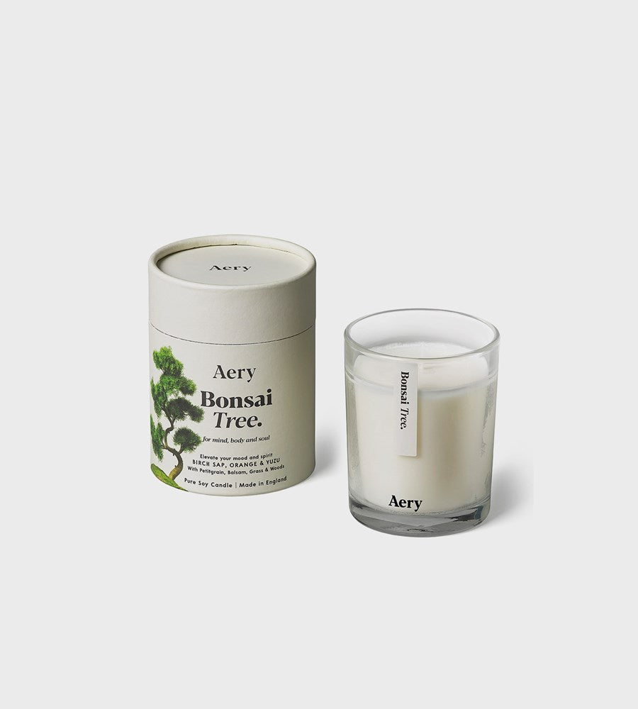 Aery | Botanical Soy Candle | Bonsai Tree