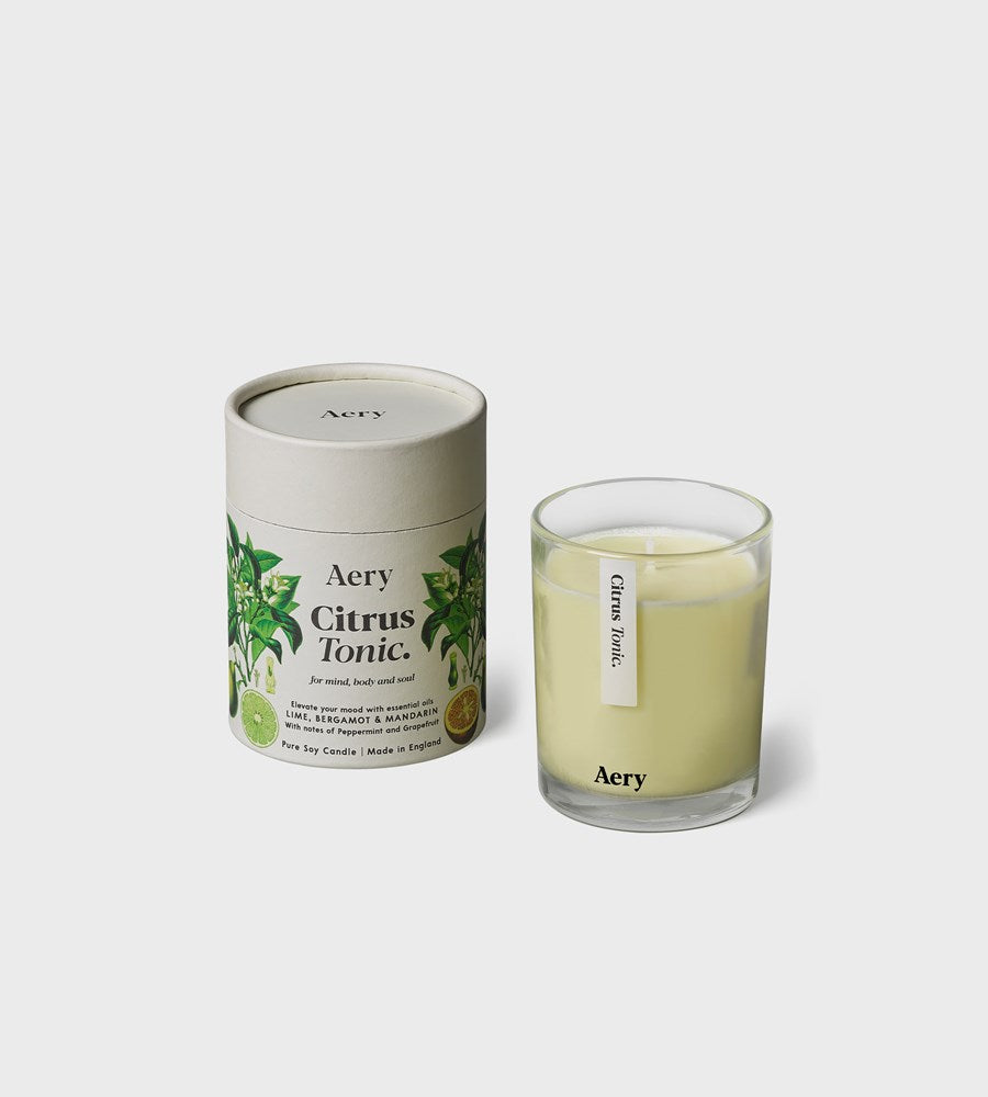Aery | Botanical Soy Candle | Citrus Tonic