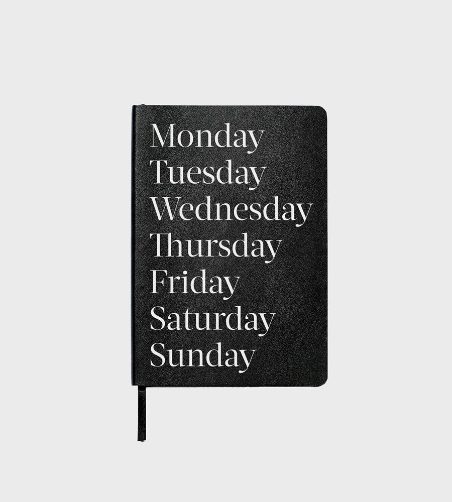 An Organised Life | Monday Volume 01 Notebook | Lined