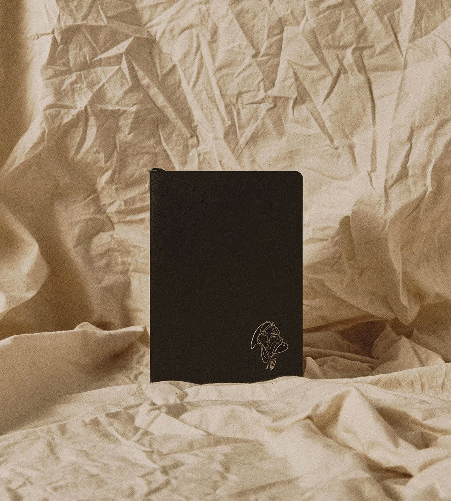 An Organised Life x Elissa Barber | Limited Edition Lined Vegan Leather Notebook