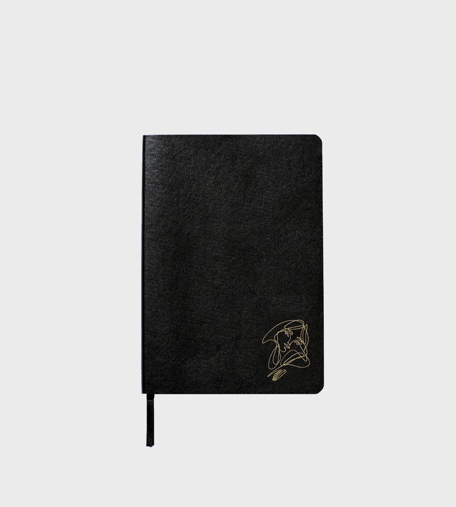 An Organised Life x Elissa Barber | Limited Edition Blank Vegan Leather Notebook
