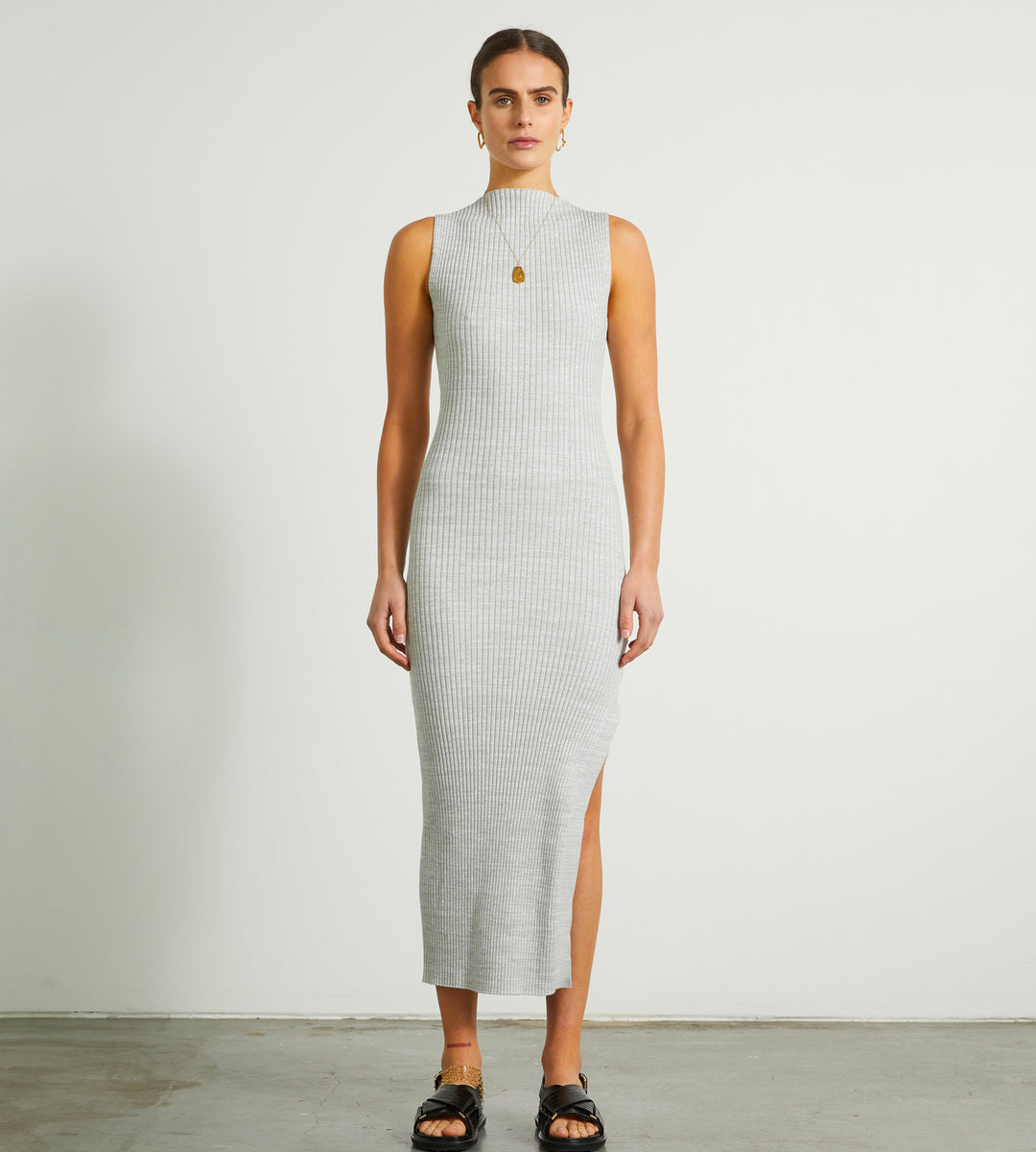 Anna Quan | Aleka Dress | Pebble