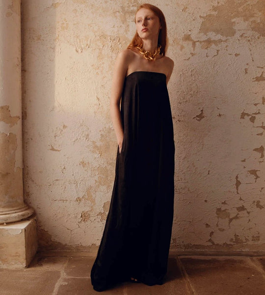 Anna Quan | Delfina Dress | Onyx
