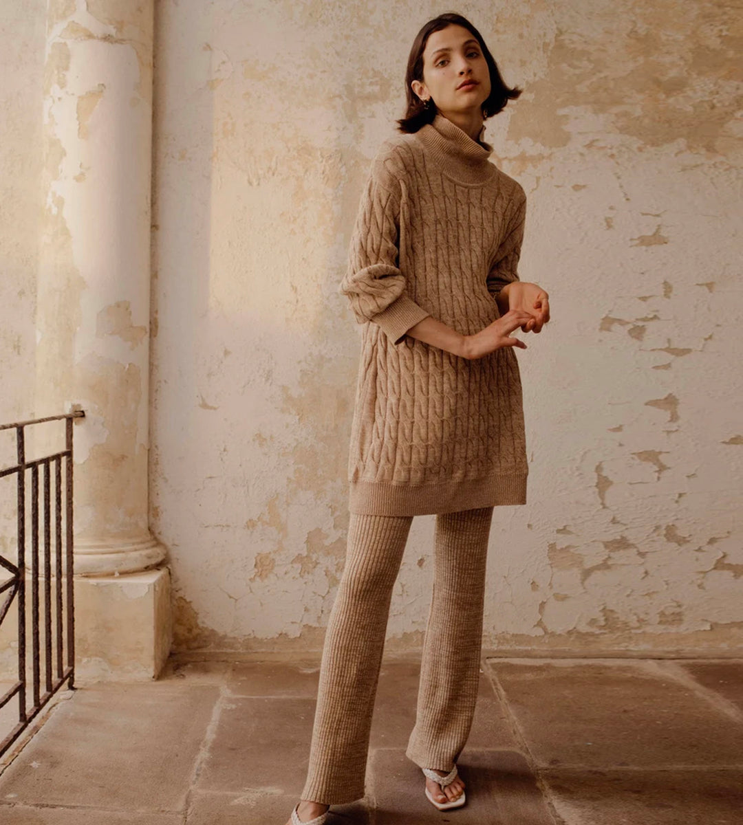 Anna Quan | Dante Sweater | Maple