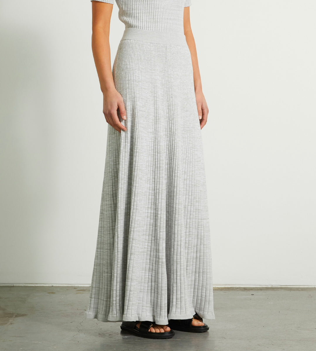Anna Quan | Selma Skirt | Pebble