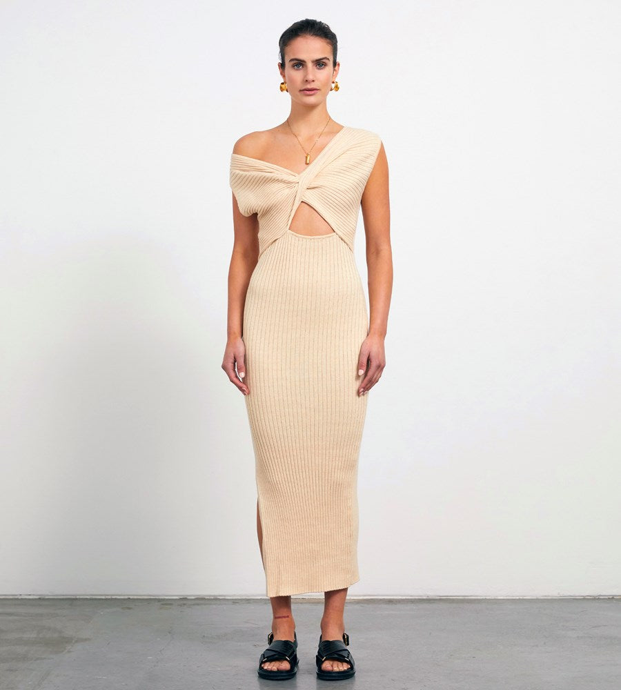 Anna Quan | Zanita Dress | Wheat