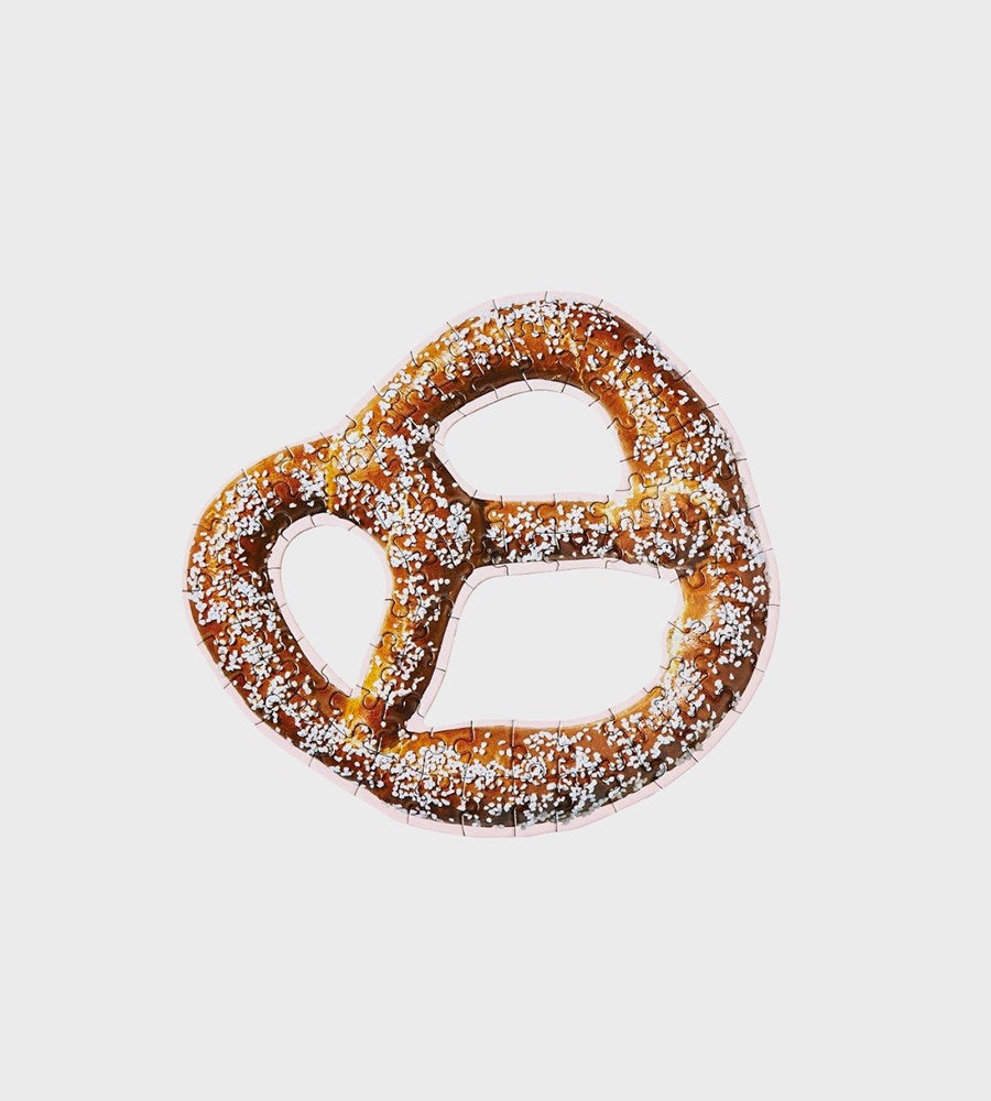 Areaware | Little Puzzle Thing Munchies | Soft Pretzel