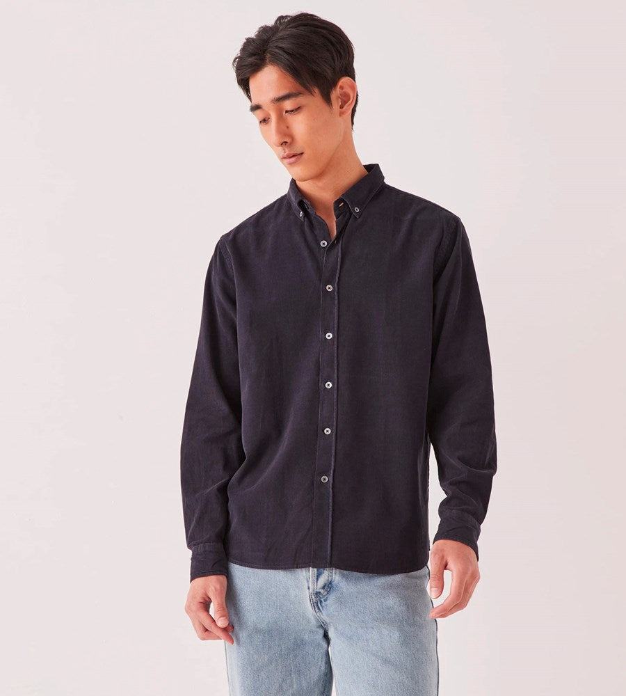 Assembly Label | Men's Cord Shirt | True Navy