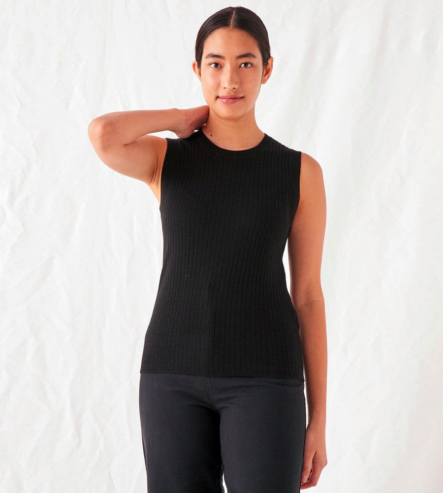 Assembly Label | Ella Knit Tank | Black