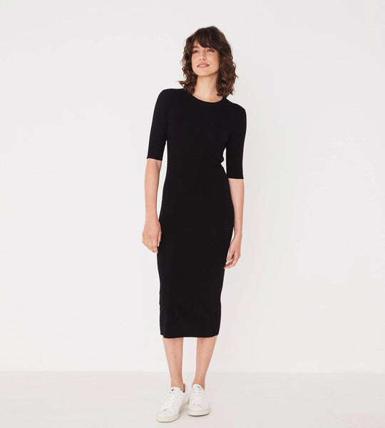 Assembly Label | Ella Midi Dress | Black