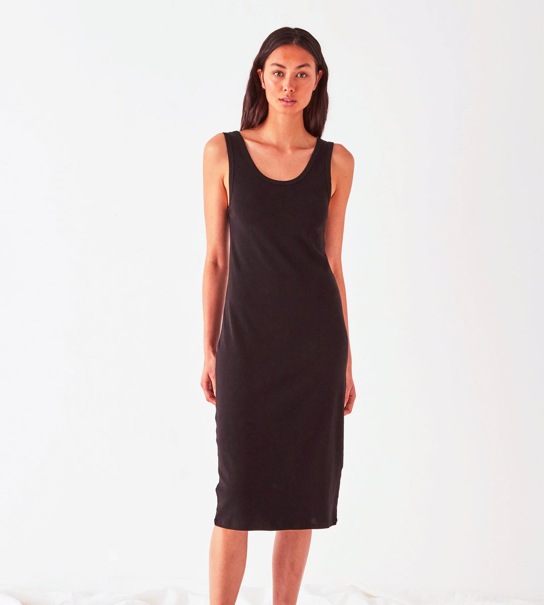 Assembly Label | Kai Rib Dress | Black