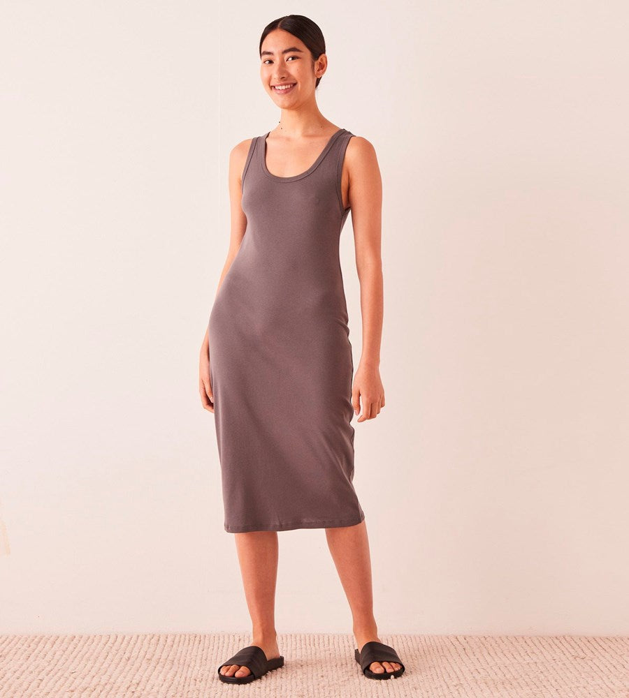 Assembly Label | Kai Rib Dress | Sable