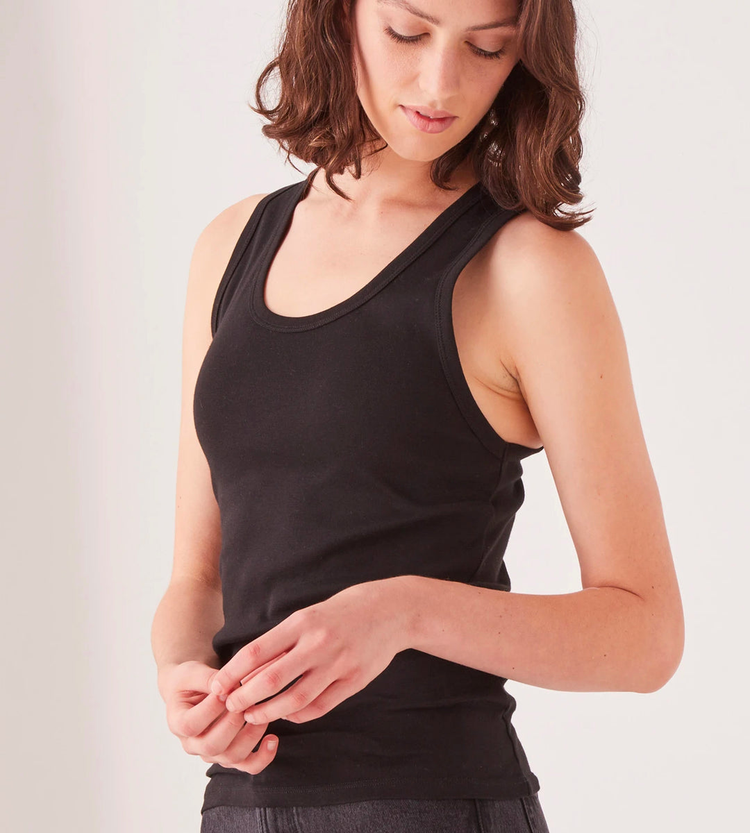 Assembly Label | Kai Rib Tank | Black