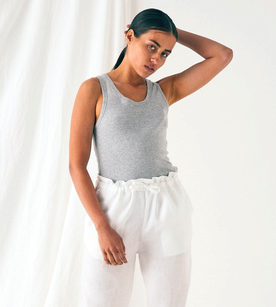 Assembly Label | Kai Rib Tank | Grey Marle