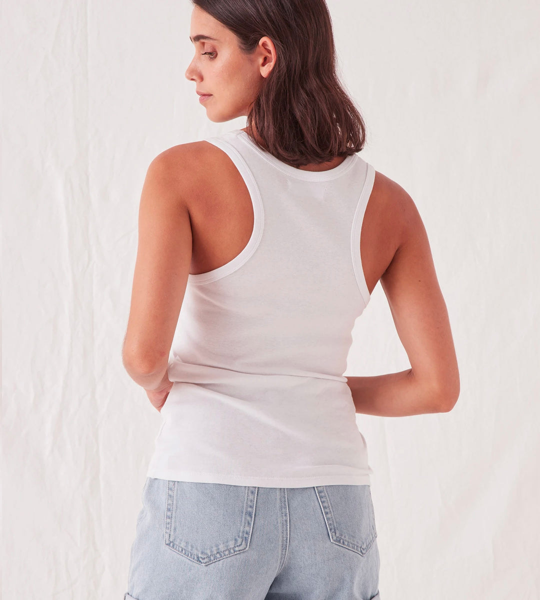 Assembly Label | Kai Rib Tank | White