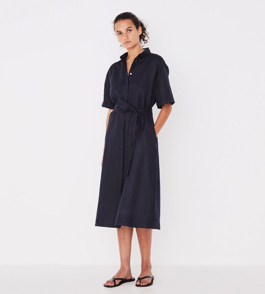 Assembly Label | Mae Dress | True Navy