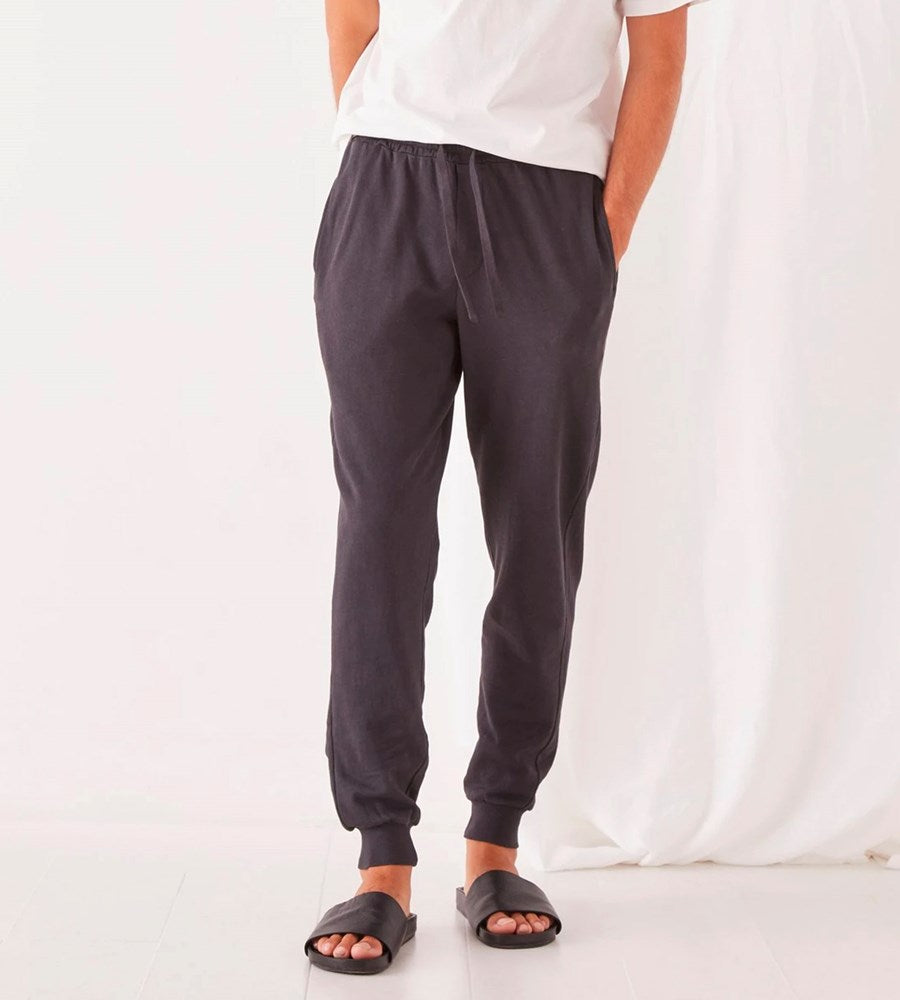 Assembly Label | Men's Lennox Lounge Pant | Washed Black