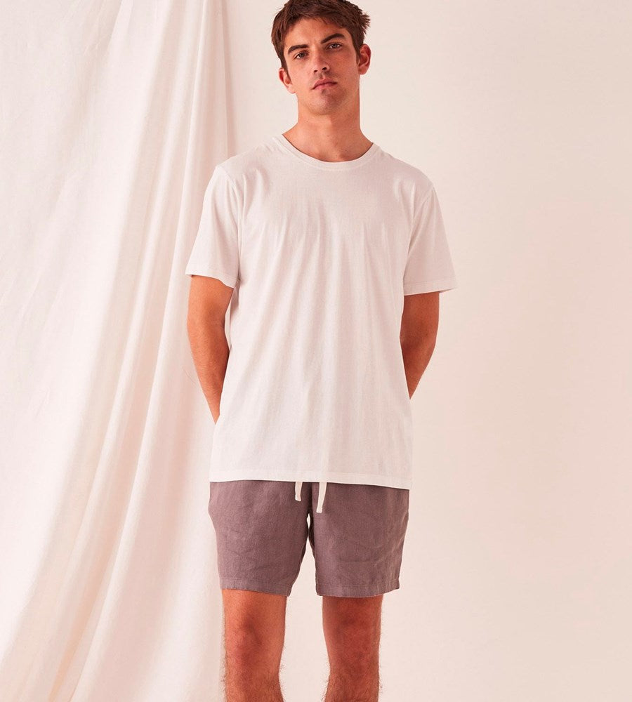 Assembly Label | Men's Standard Tee | Silver Grey