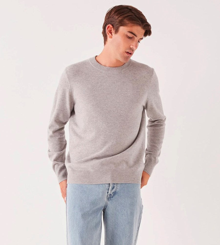Assembly Label | Men's Anders Knit | Grey Marle