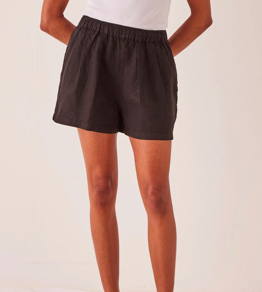 Assembly Label | Noma Linen Short | Black