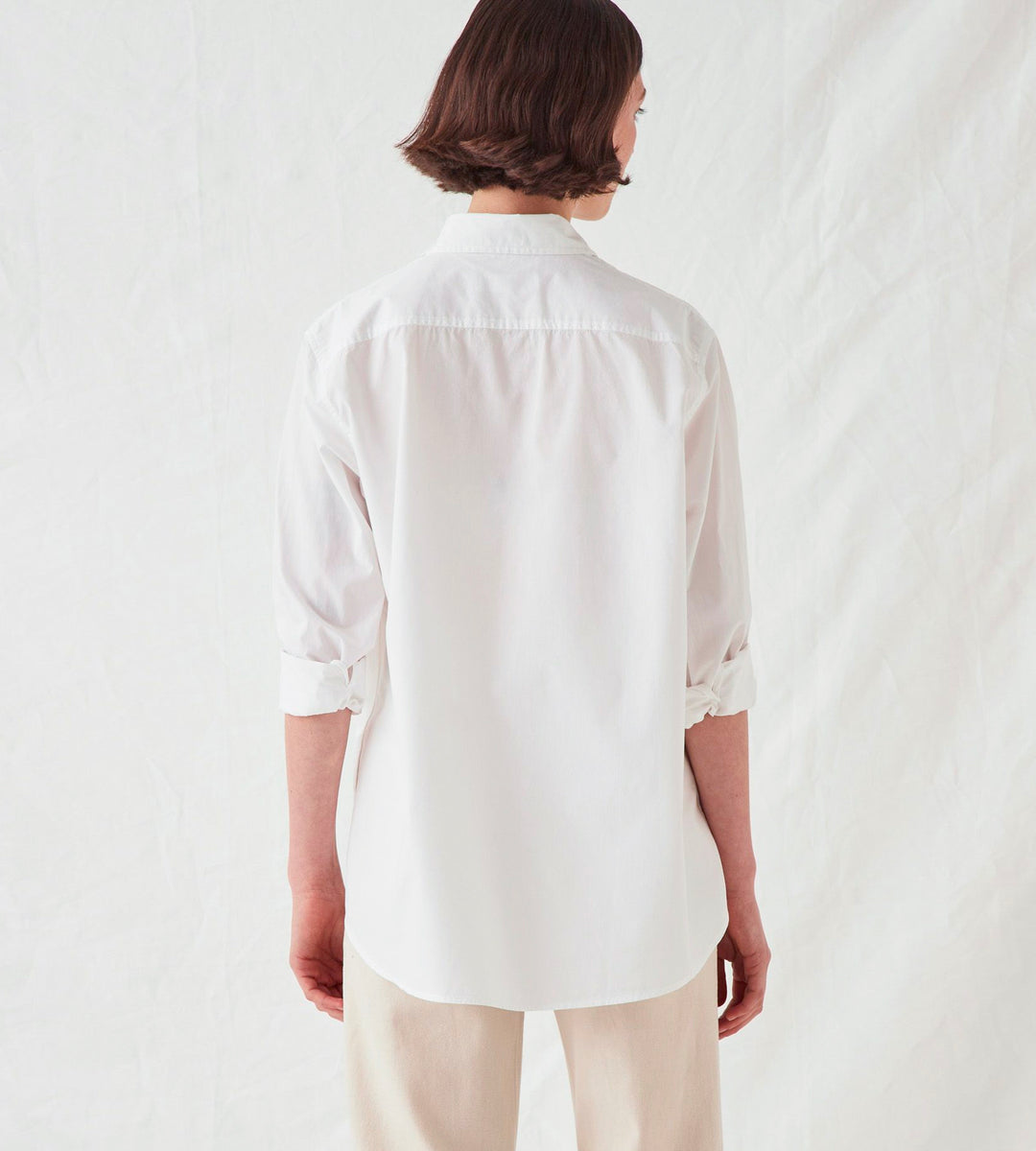 Assembly Label | Pira Poplin Shirt | White