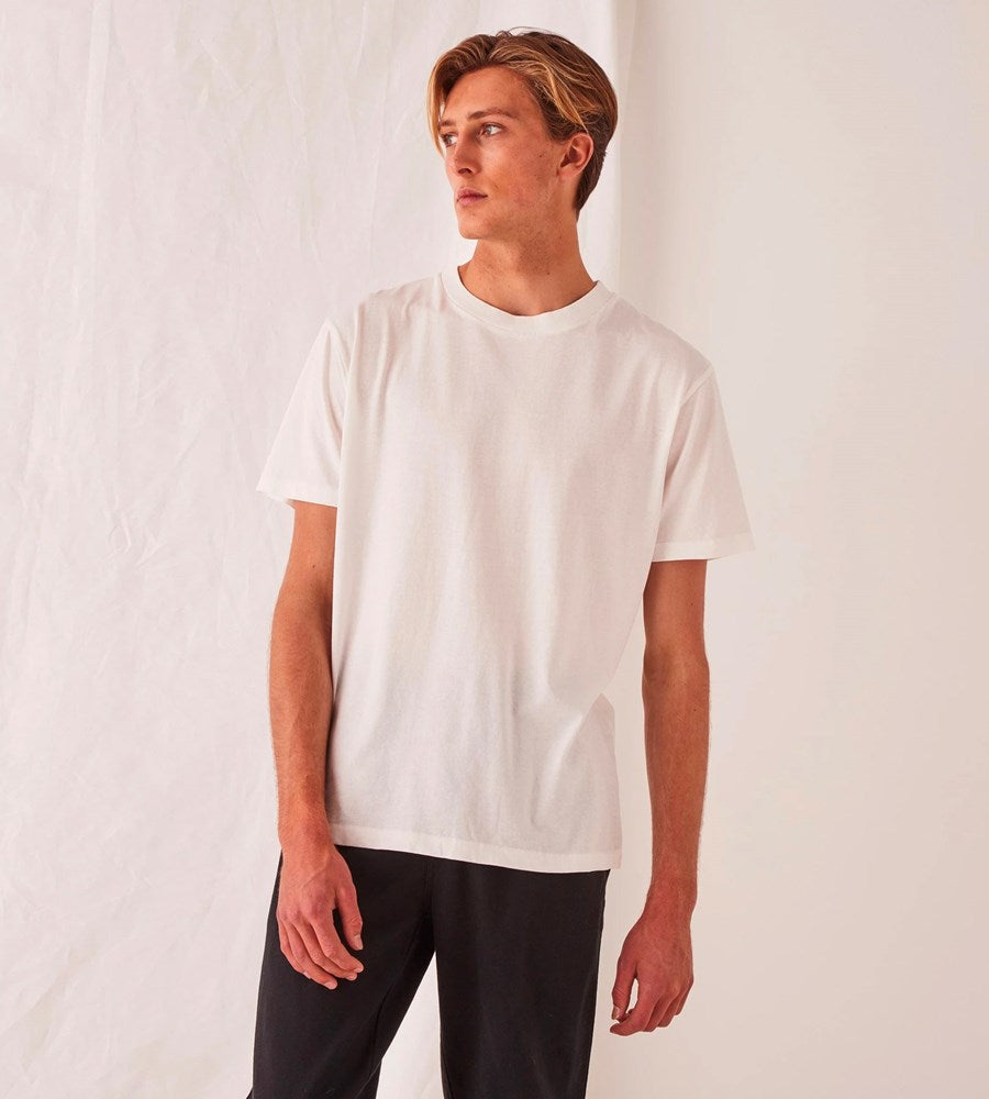 Assembly Label | Men's Reuben Tee | Antique White