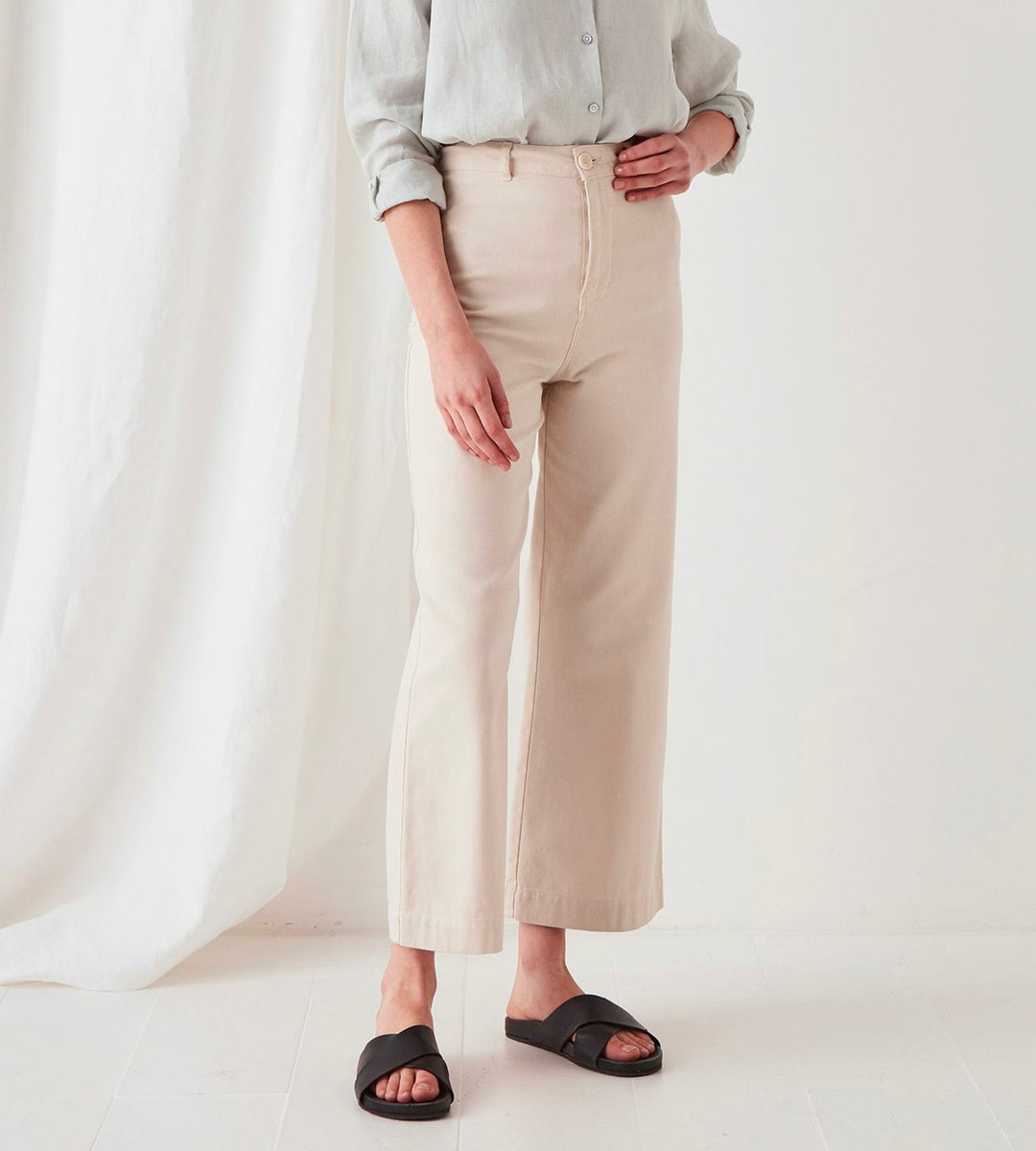 Assembly Label | Tala Canvas Pant | Ivory