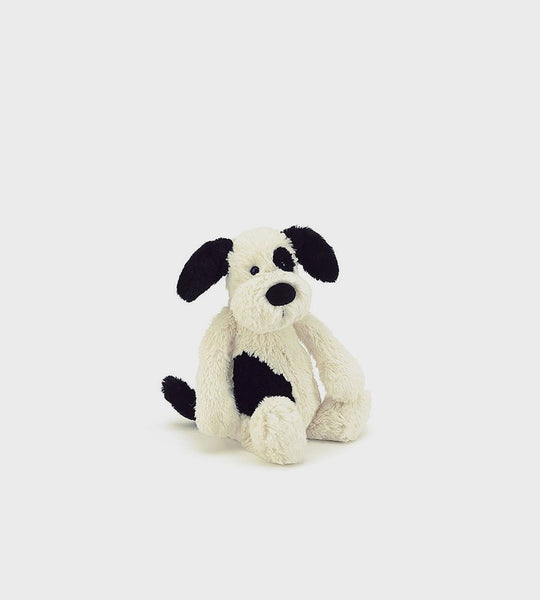Bashful Black & Cream Puppy | Small