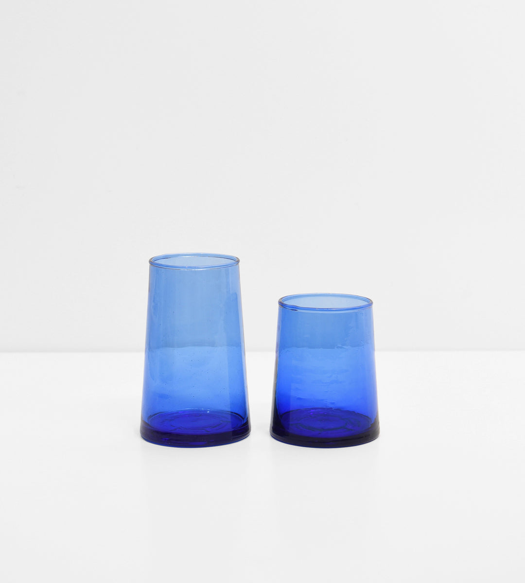 Beldi Wine Glass | Cobalt | Tapered