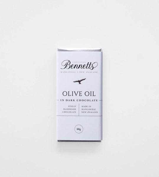 Bennetts of Mangawhai | Olive Oil Dark Chocolate Bar