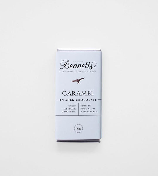 Bennetts of Mangawhai | Caramel Milk Chocolate Bar