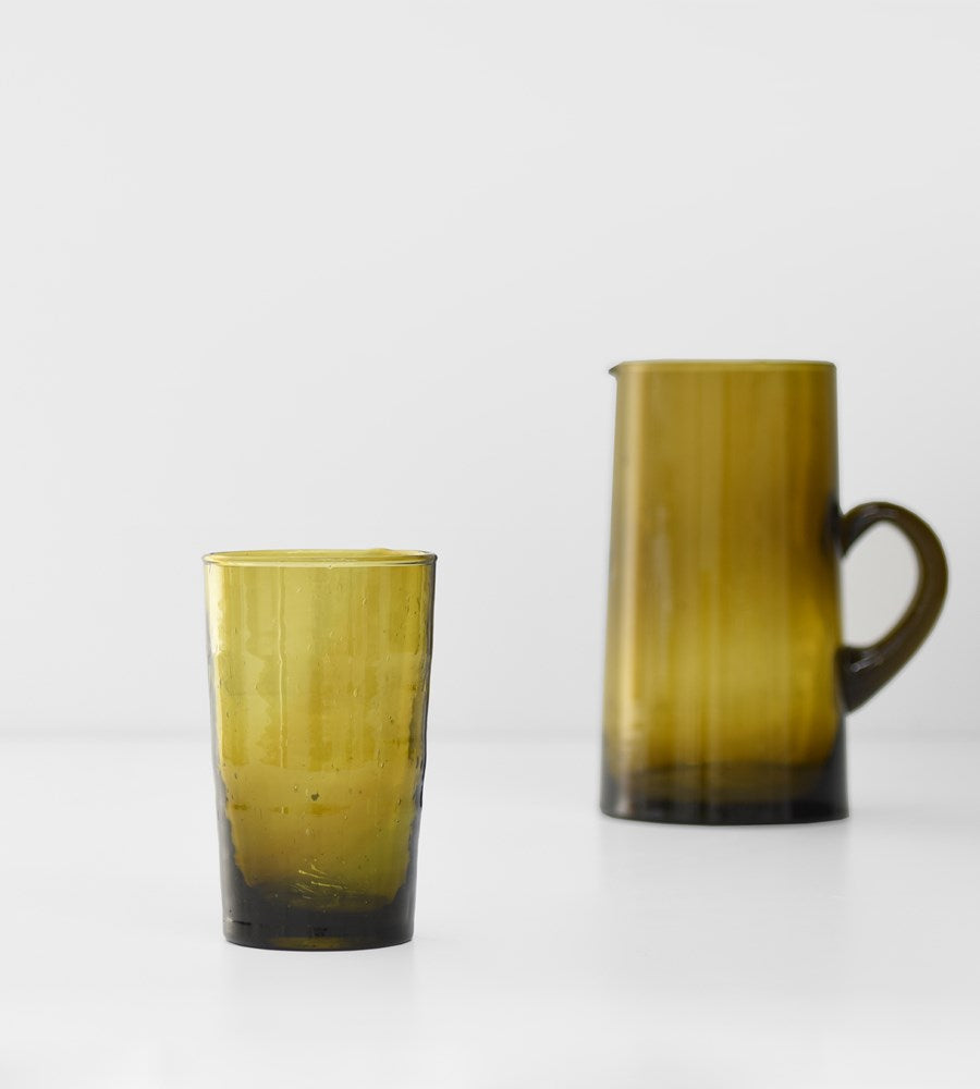 Moroccan Straight Glass |  Mustard