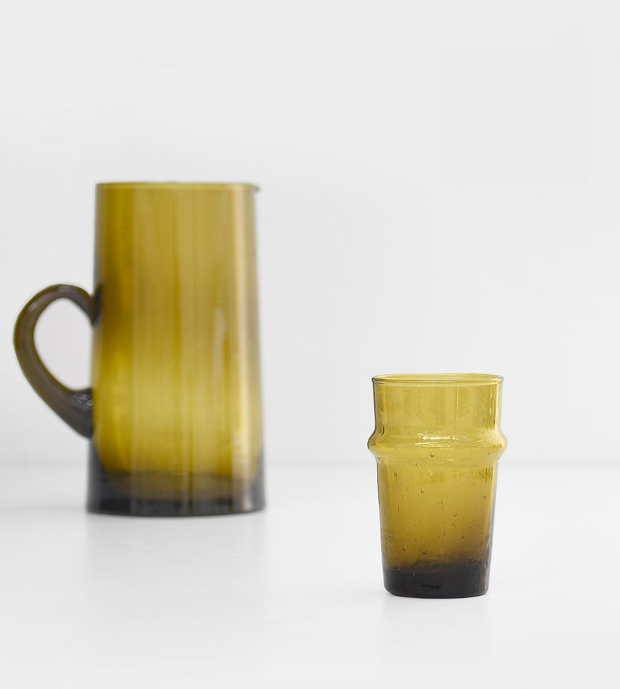 Moroccan Traditional Glass | Mustard
